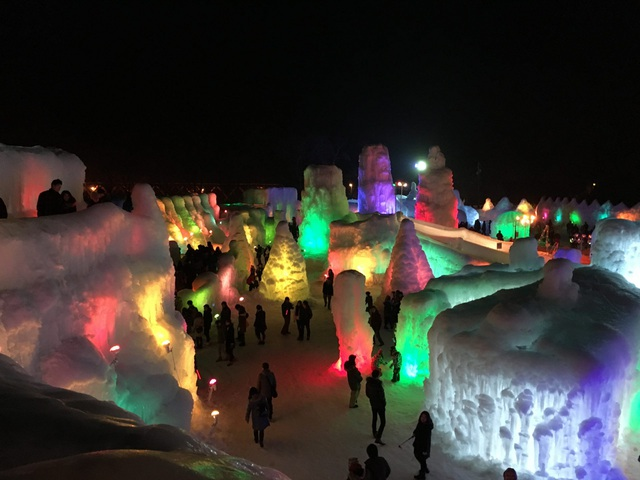 Những lễ hội mùa đông độc đáo chỉ có tại xứ sở hoa anh đào - 2