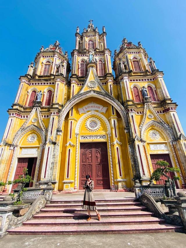 Check-in cháy máy ở loạt nhà thờ Nam Định, ngỡ lạc bước ở trời Âu - 4