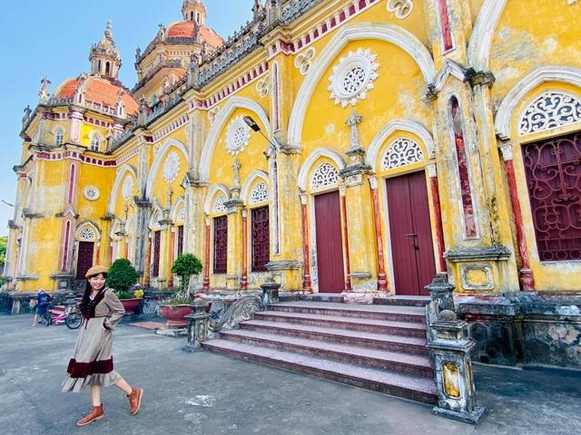 Check-in cháy máy ở loạt nhà thờ Nam Định, ngỡ lạc bước ở trời Âu - 5