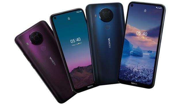 Bộ đôi smartphone giá rẻ Nokia 5.4 và Nokia C1 Plus được ra mắt - 1