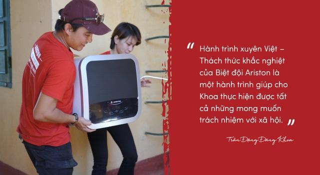 Nghe Trần Đặng Đăng Khoa lần đầu kể về chuyến đi xuyên Việt khác thường - 2