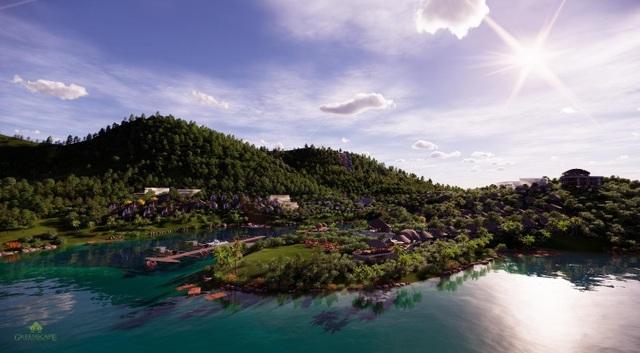 """Parahills Resort nằm giữa lòng thung lũng Thung Nai - """"Vịnh Hạ Long trên núi"""" của Tây Bắc"""