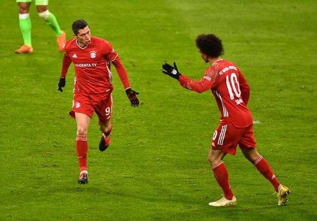 Cú đúp của Lewandowski giúp Bayern Munich đánh bại Wolfsburg - 4