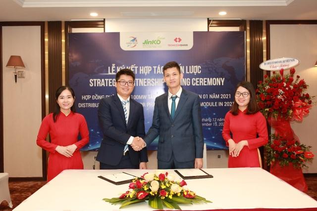 Jinko Solar và Long Tech ký thỏa thuận 100MW tấm năng lượng mặt trời - 1