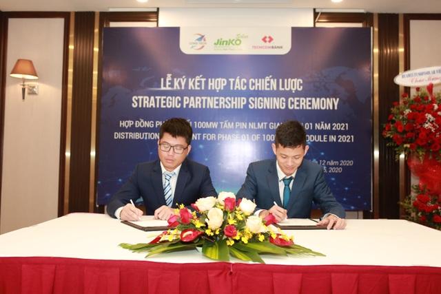 Jinko Solar và Long Tech ký thỏa thuận 100MW tấm năng lượng mặt trời - 4