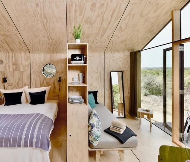 Bên trong nhà làm từ bìa các tông đẹp như mơ, có thể di chuyển bất cứ đâu - 6