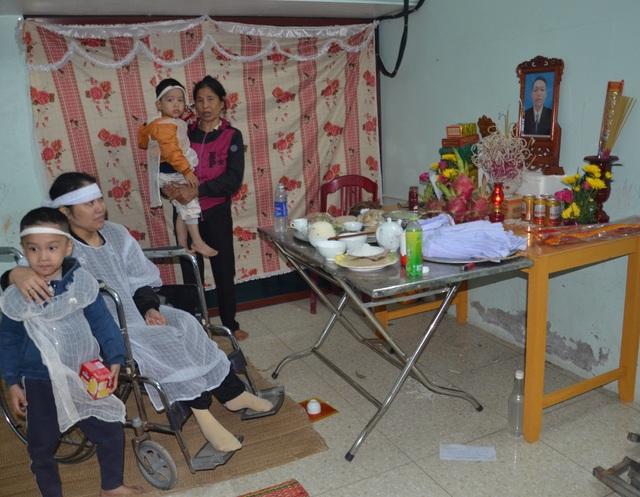 Đau nhói lòng cảnh người cha qua đời bỏ lại hai con nhỏ và người vợ liệt - 5