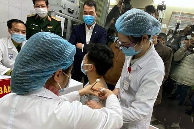 Bắt đầu tiêm thử vắc xin Covid-19 made in Vietnam trên người - 2