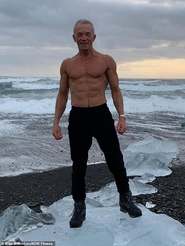 Ngưỡng mộ dáng vóc của nam người mẫu 67 tuổi  - 1