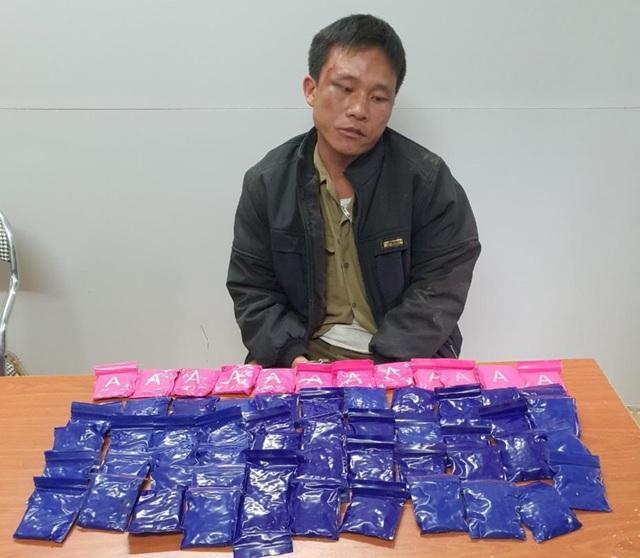 Buôn khối lượng lớn ma túy, chống trả cảnh sát làm 1 người bị thương - 1