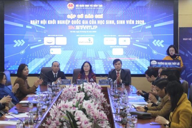 Gần 600 ý tưởng gửi tới ngày hội Khởi nghiệp Quốc gia của HS,SV năm 2020 - 1