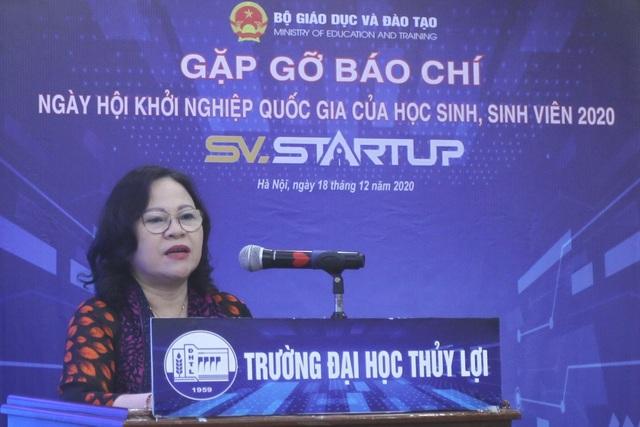 Gần 600 ý tưởng gửi tới ngày hội Khởi nghiệp Quốc gia của HS,SV năm 2020 - 2