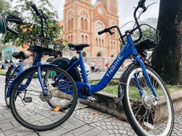 Xe đạp công cộng cho thuê 10.000 đồng/giờ ở trung tâm Sài Gòn - 1