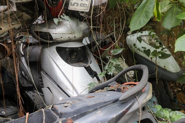 Hơn 500 chiếc xe máy vô chủ chất đống trong bến xe - 10