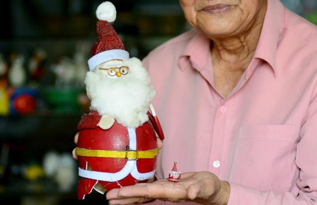 Thầy giáo Sài Gòn biến hóa vỏ trứng thành ông già Noel - 18