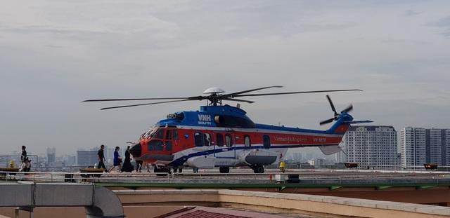 Sân bay trực thăng tại bệnh viện đầu tiên của Việt Nam chính thức hoạt động - 4