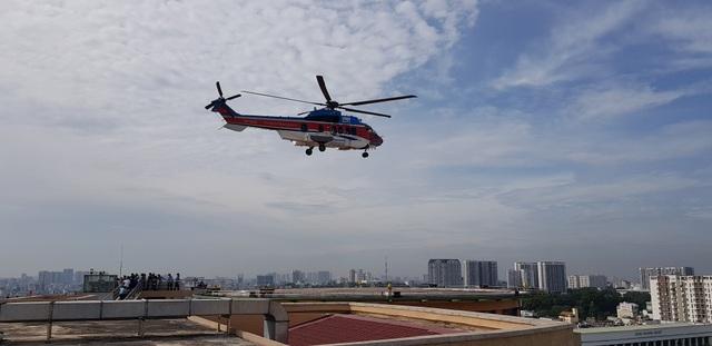 Sân bay trực thăng tại bệnh viện đầu tiên của Việt Nam chính thức hoạt động - 3