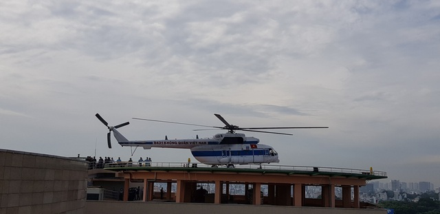 Sân bay trực thăng tại bệnh viện đầu tiên của Việt Nam chính thức hoạt động - 2