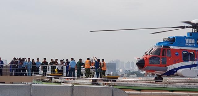 Sân bay trực thăng tại bệnh viện đầu tiên của Việt Nam chính thức hoạt động - 7