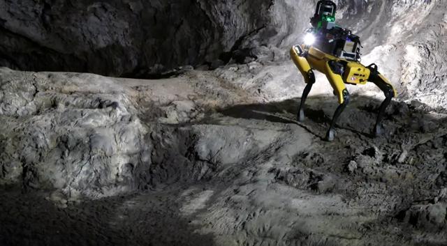 NASA sắp sử dụng chó robot tích hợp AI khám phá hang động trên Sao Hỏa - 1