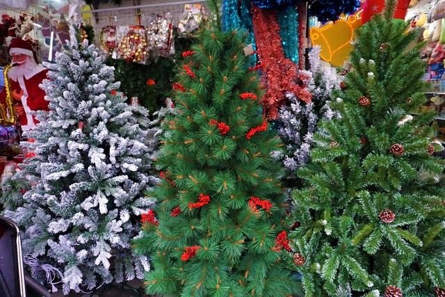 Thị trường Noel tại Đà Nẵng: Cây thông đắt hàng - 3
