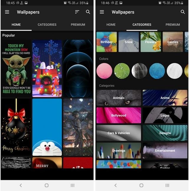 Bộ sưu tập hình nền và nhạc chuông chất lượng cao cho smartphone - 3