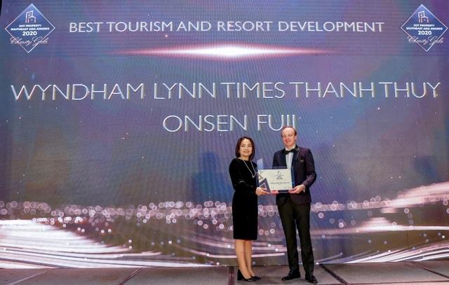 Wyndham Thanh Thủy được vinh danh dự án phát triển du lịch và nghỉ dưỡng tốt nhất Đông Nam Á 2020 - 1