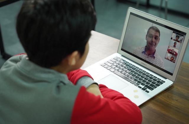Mô hình lớp học tương tác online với giáo viên Mỹ - 1