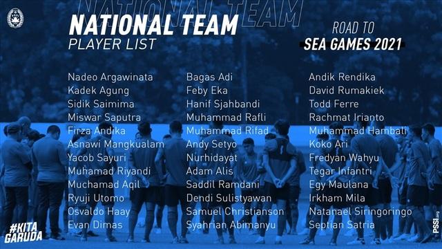 U22 Indonesia sớm hội quân, lộ tham vọng vô địch SEA Games ở Việt Nam - 2