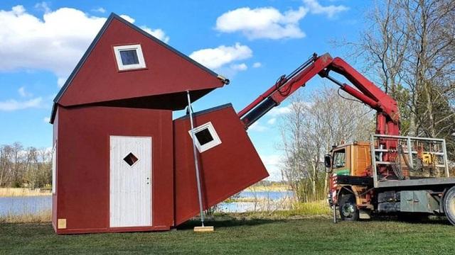 Kinh ngạc với kiểu nhà có thể gập gọn gàng và di chuyển đi bất cứ đâu - 3