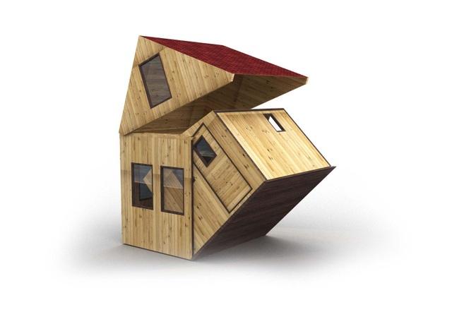 Kinh ngạc với kiểu nhà có thể gập gọn gàng và di chuyển đi bất cứ đâu - 4