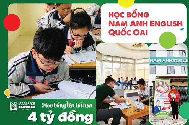 Học bổng Nam Anh English cho học sinh Quốc Oai - 1