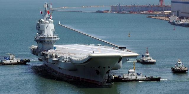 Đài Loan điều 8 máy bay, 6 tàu chiến theo dõi tàu sân bay Trung Quốc - 1