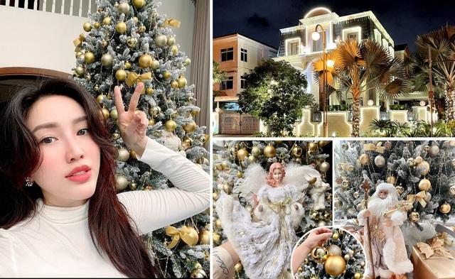Quyền Linh, Bảo Thy… hé lộ không gian nhà ở sang trọng dịp Giáng Sinh - 3