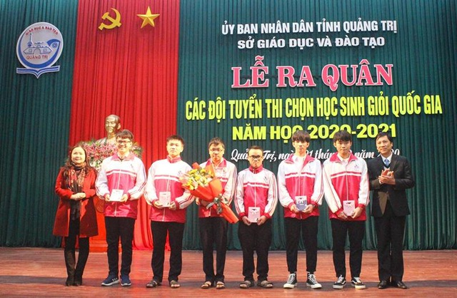 Quảng Trị: 53 học sinh tham dự kỳ thi học sinh giỏi Quốc gia - 1