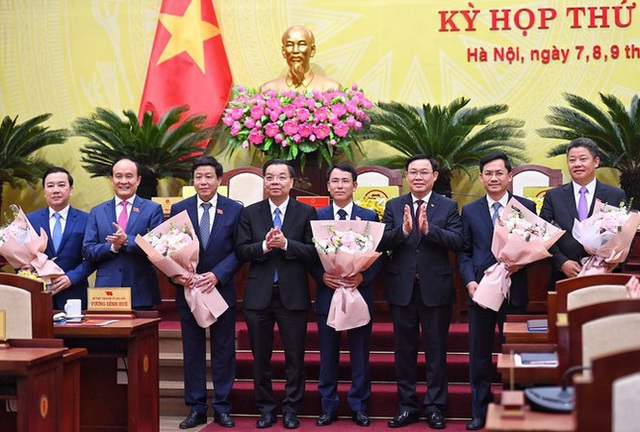 Hà Nội phân công nhiệm vụ 6 Phó Chủ tịch UBND TP - 1