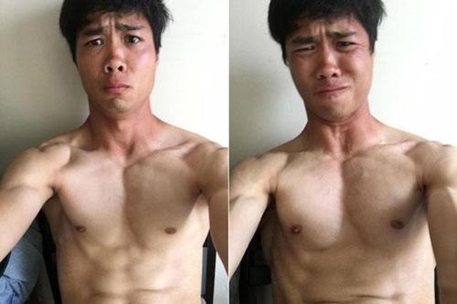 Tuyển tập body 6 múi của dàn cầu thủ Việt làm phái nữ xao xuyến - 7