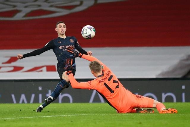 Những khoảnh khắc Man City vùi dập Arsenal tại Emirates - 13
