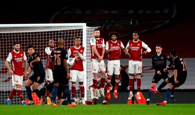 Những khoảnh khắc Man City vùi dập Arsenal tại Emirates - 11