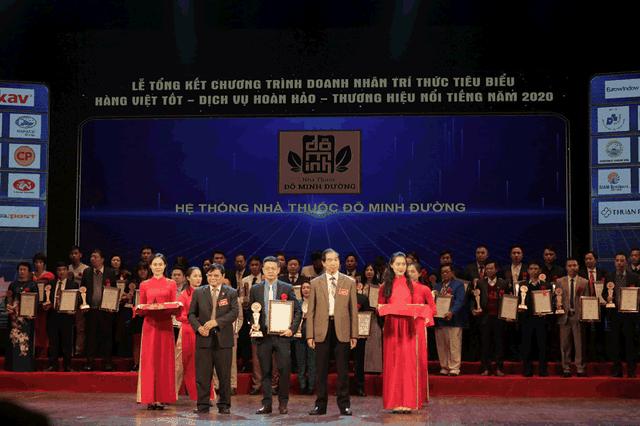 Nhà thuốc Đỗ Minh Đường được vinh danh Top 20 doanh nghiệp nổi tiếng năm 2020 - 1