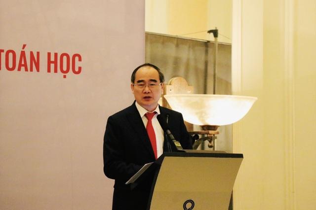 GS Nguyễn Thiện Nhân: Phải xây dựng hệ sinh thái Toán học Việt Nam - 1