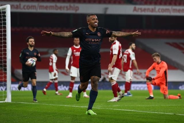 Arsenal 1-4 Man City: Pháo thủ thêm bết bát - 1