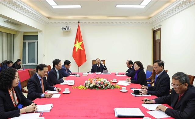 Thủ tướng Nguyễn Xuân Phúc điện đàm với Tổng thống Hoa Kỳ Donald Trump - 1