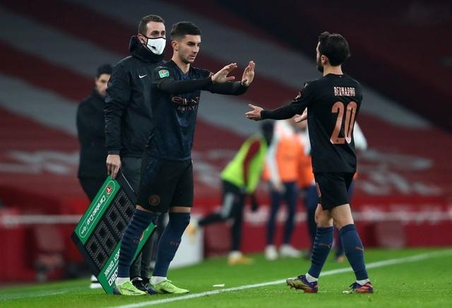 Những khoảnh khắc Man City vùi dập Arsenal tại Emirates - 17