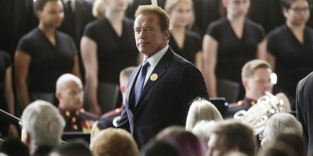 Kẻ hủy diệt Arnold Schwarzenegger hết lời khen con rể - 4