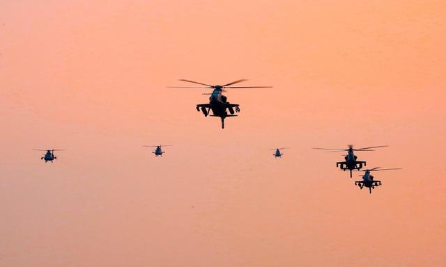 Trung Quốc điều trực thăng diễn tập đổ bộ, tấn công đảo - 1