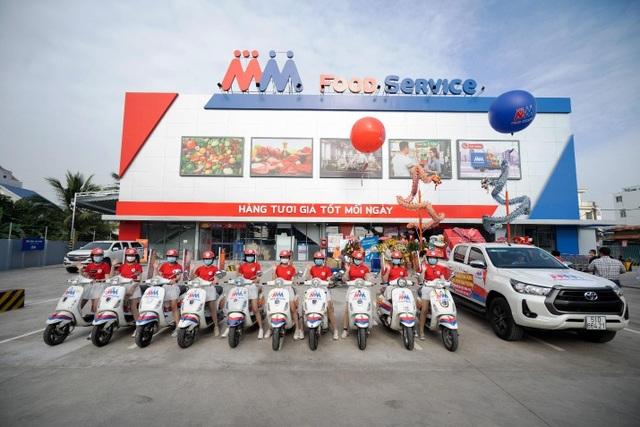 MM Mega Market khai trương Trung tâm Food Service Hưng Phú - 1