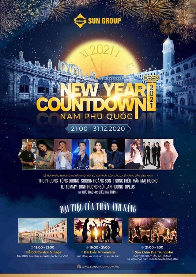 New Year Countdown 2021 Nam Phú Quốc - Đại tiệc âm nhạc và ánh sáng - 1
