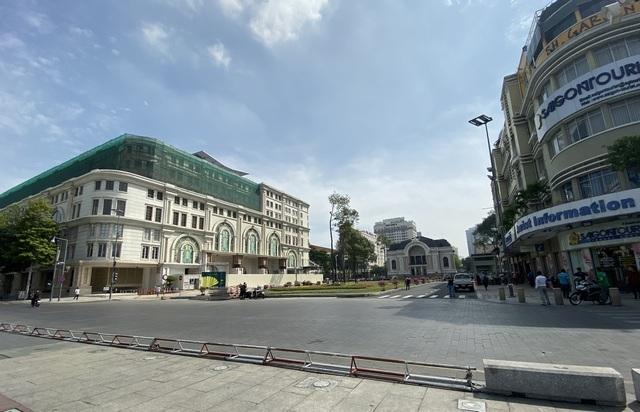 Nhiều băn khoăn khi tổ chức mạng lưới phố đi bộ khu trung tâm Sài Gòn
