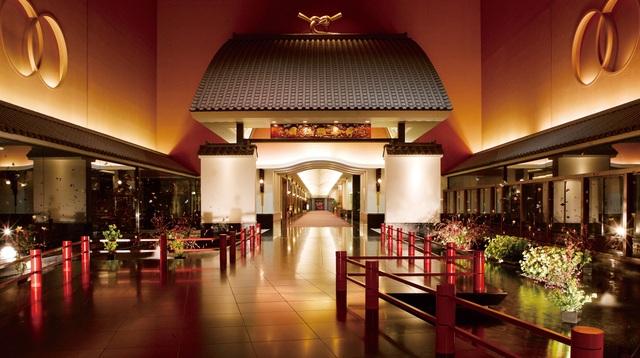 Khách sạn tựa Long cung ở Thủ đô Tokyo - 1